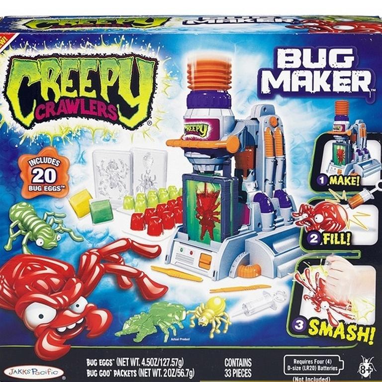 Фабрика по изготовлению жуков Creepy Crawlers 31687-CC + Запасной материал для фабрики
