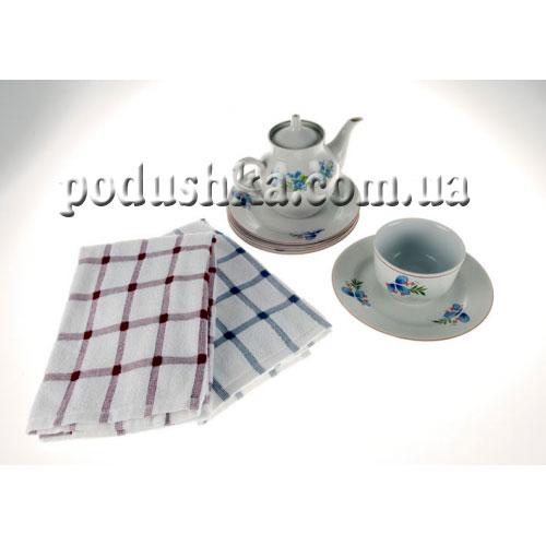 Полотенце кухонное махровое Maisonette Kitchen Квадраты