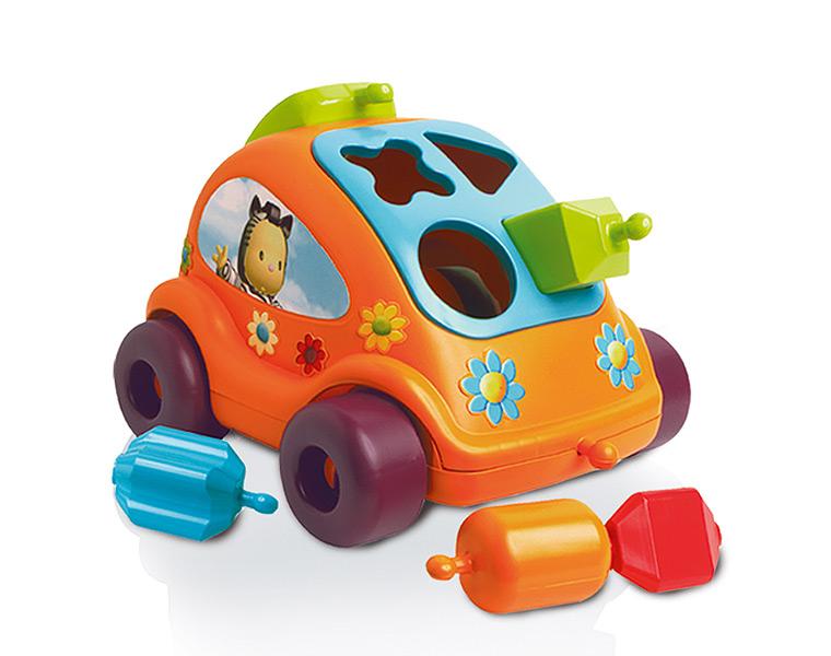 Машинка Сotoons с формами