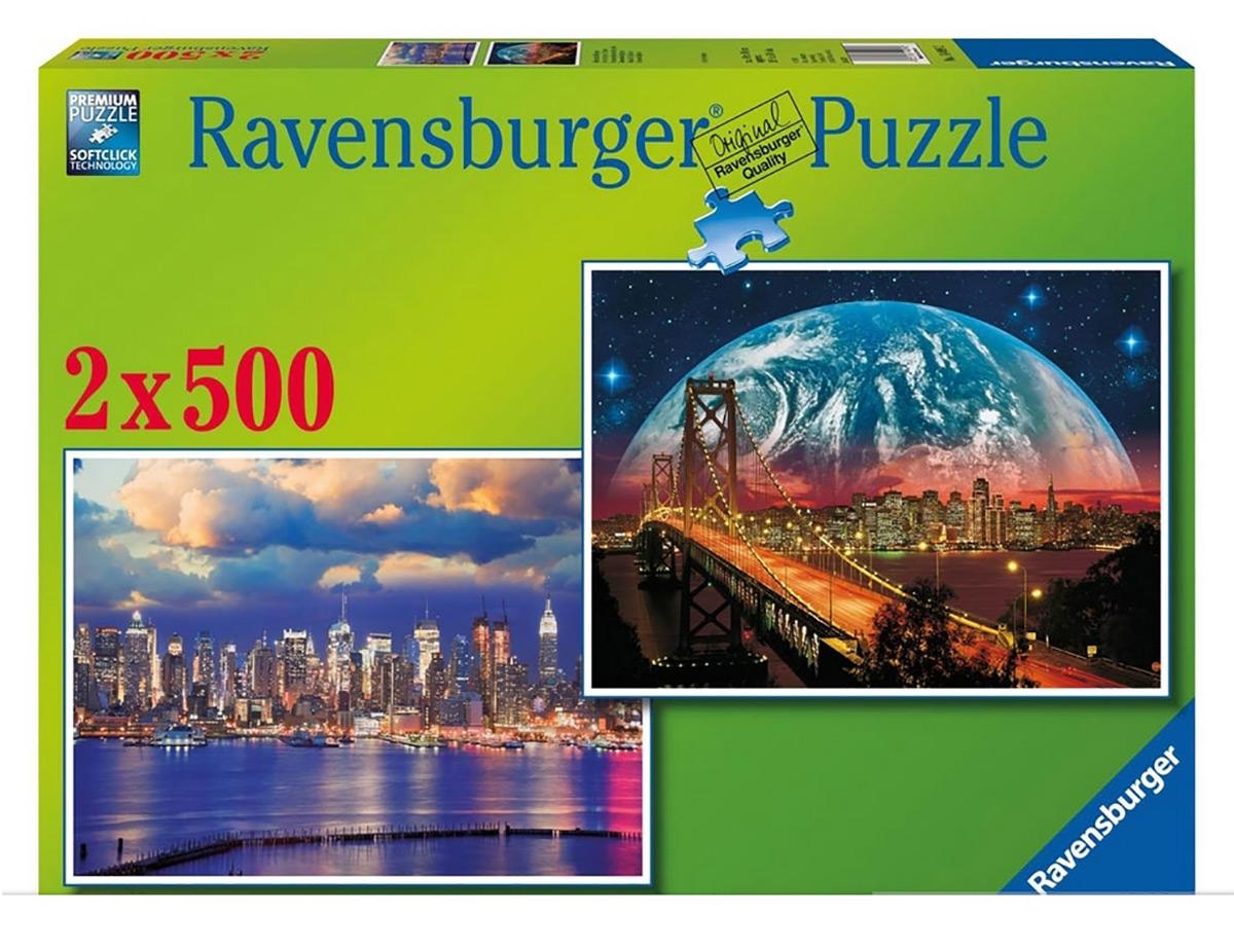 Пазл Огни города Ravensburger 80829-Rb