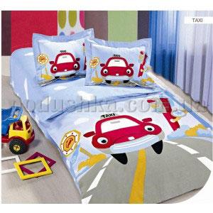 Постельное белье для новорожденных Arya Taxi