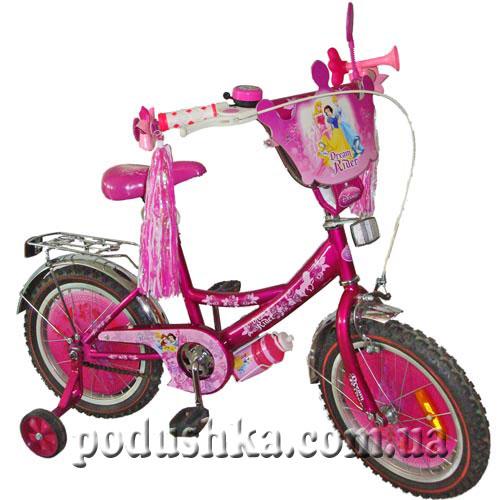 Велосипед детский 2-х колесный Принцессы