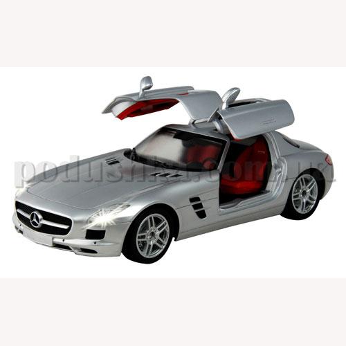Автомобиль радиоуправляемый - Mercedes-Benz-SLS-AMG (серебристый, 1:16)