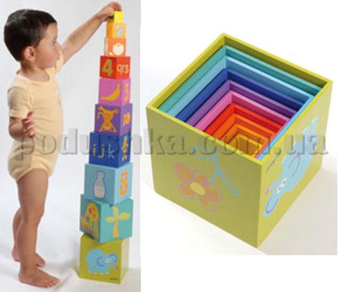 Радужные кубики Boikido Пирамида (10 шт)