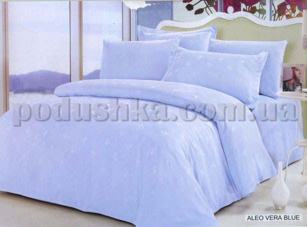 Постельное белье Arya Aloe Vera blue