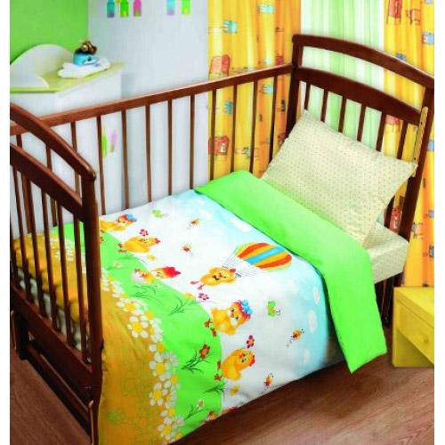 Постельное белье в кроватку Парашютист