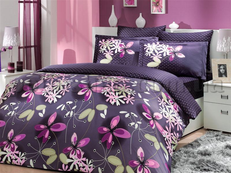 Постельное белье Hobby Chichek фиолетовый