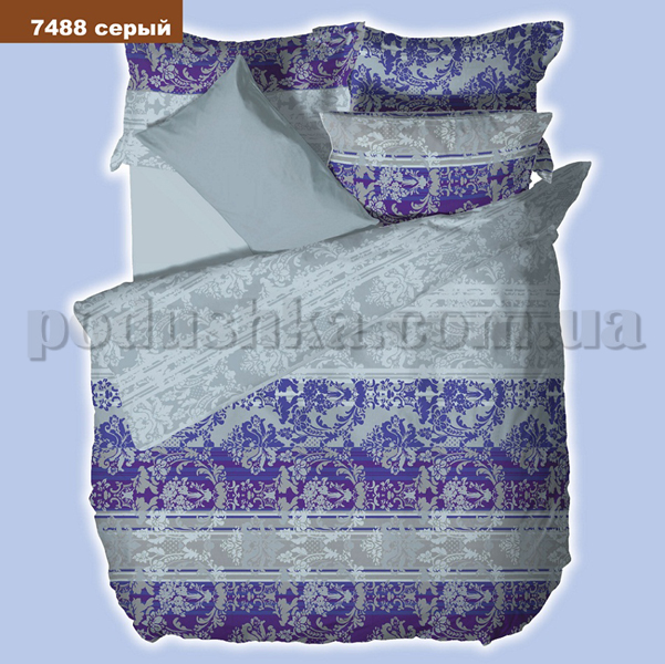 Постельное белье Вилюта 7488 серый