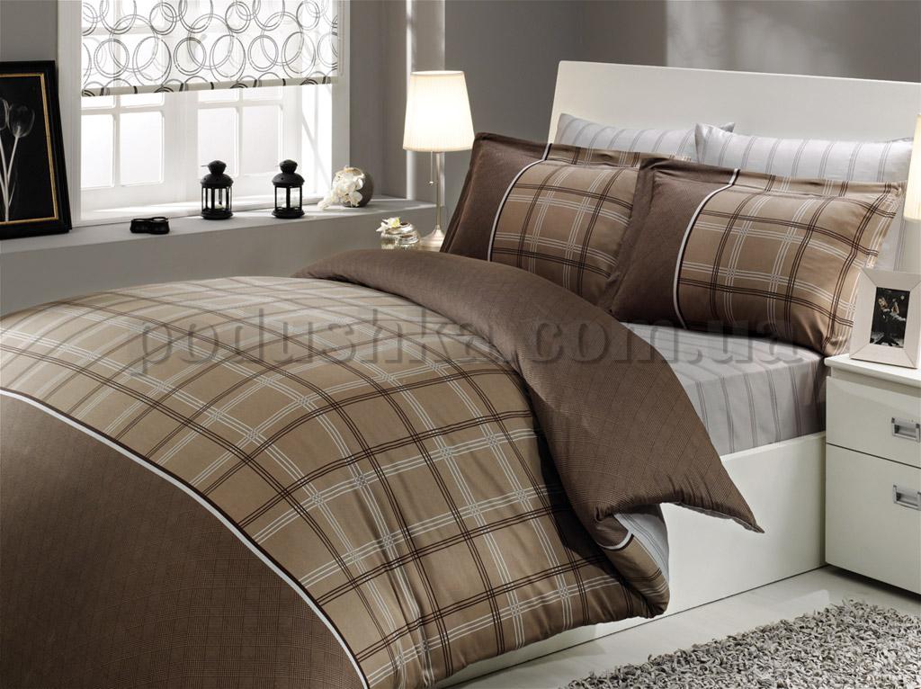 Постельное белье Hobby Eva коричневый
