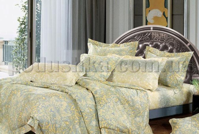 Постельное белье Home line Фреска золотой
