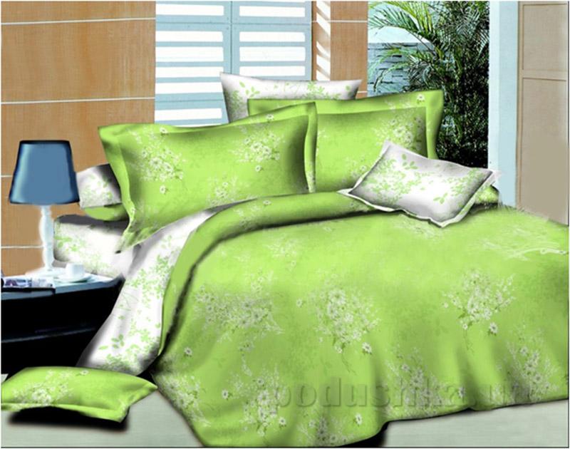 Комплект постельного белья Summer bouquet L-1581-1 SoundSleep поплин