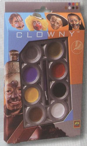 Набор красок для грима (8 цветов)