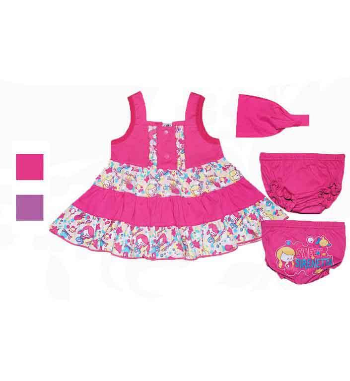 Комплект для девочек Фламинго 674