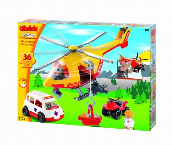 Конструктор Спасательный самолет с командой