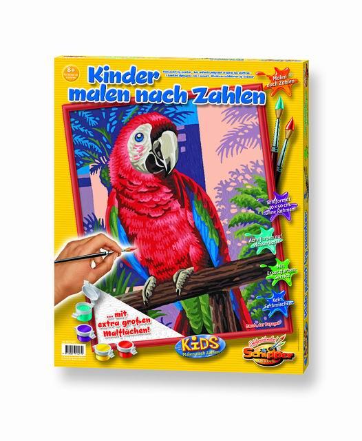 Художественный творческий набор Попугай