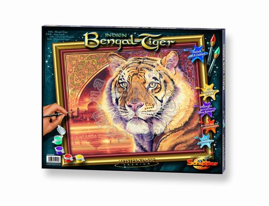 Художественный творческий набор Бенгальский тигр