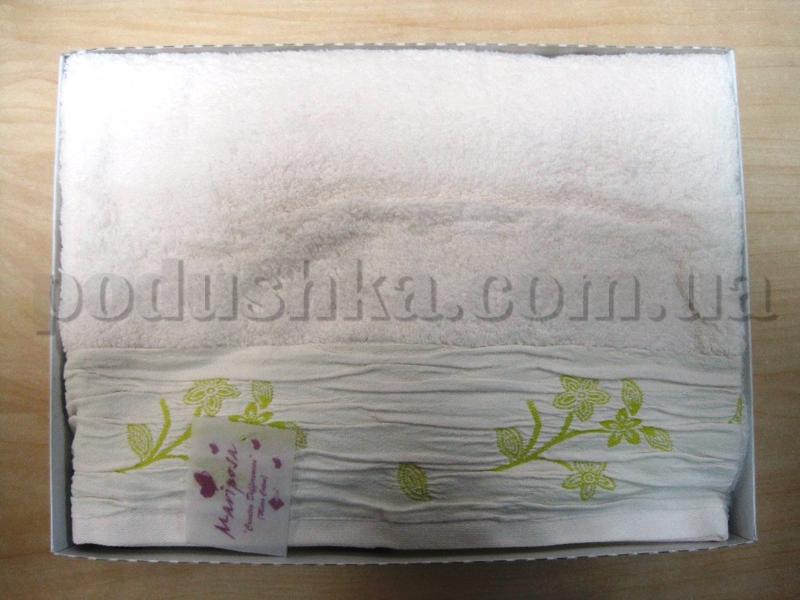 Набор махровых полотенец Mariposa Бабочки салатовые