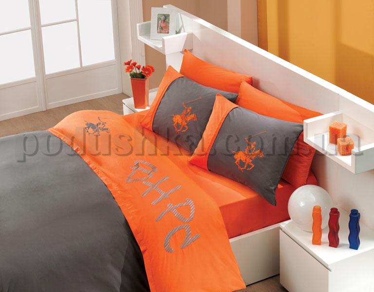 Постельное белье BHPC 151 orange-grey