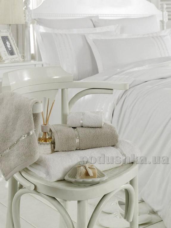 Полотенце махровое Ladinne Perle white