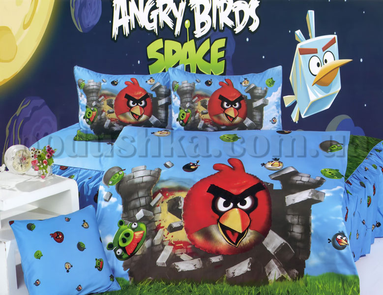 Постельное белье La Scala KI-063 Angry Birds