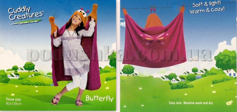 Плед-накидка детский Le Vele Butterfly