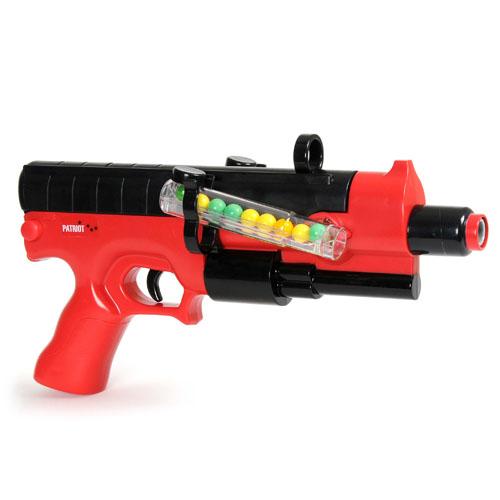 Набор для пейнтбола серии - PATRIOT - РА1200 (пистолет, мишень, очки, пули)