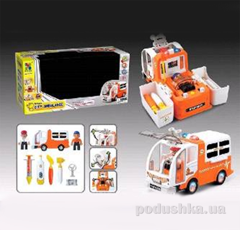 Игровой набор машина Скорая помощь с аксессуарами Bump-Go 388150TBC