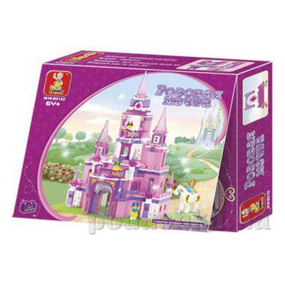 Конструктор Sluban 619947M 38 B 0152 Замок для принцессы   Sluban