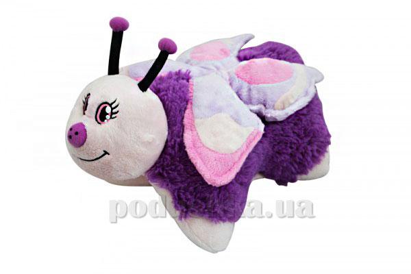 Декоративная подушка Розовая бабочка Pillow Pets 25x27x45 см  Pillow Pets