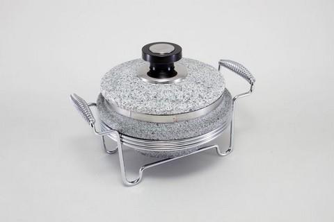 Круглый мармит (нерж. сталь) 5766-S