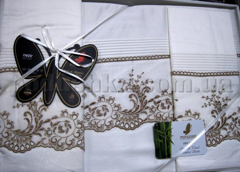 Постельное белье Mariposa Bonjorno De luxe Nuans gold