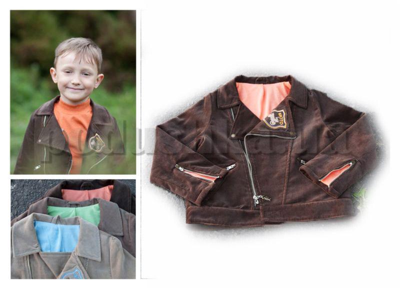 Куртка для мальчиков Бемби КТ5 вельвет