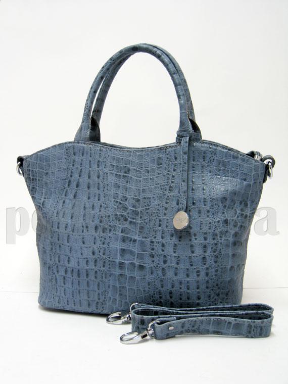 Сумка из натуральной кожи Artis Bags 635 синяя