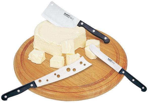 Набор для сыра ROUND ножи и доска BergHOFF