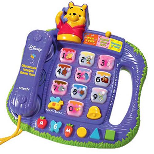 Игрушка развивающая - Обучающий Телефон Мишки (музыкальная)