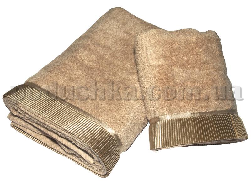 Набор полотенец Pavia SATIN BROWN коричневый