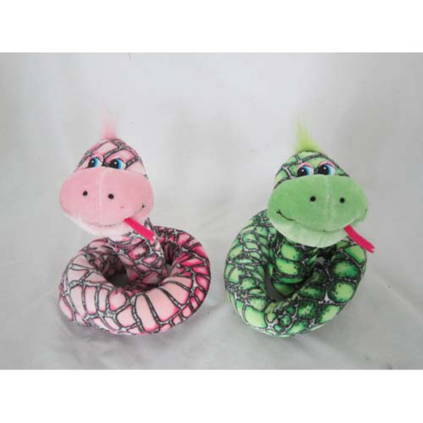 Мягкая игрушка - Змея пестрая (муз., 85 см)