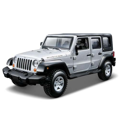 Авто-конструктор - Jeep Wrangler Unlimited Rubicon, серебристый