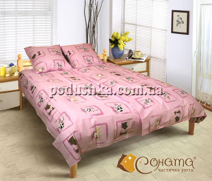 Постельное белье Коровка (для детской кроватки)