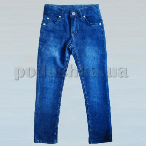Штаны для девочек Бемби ШР192 джинс