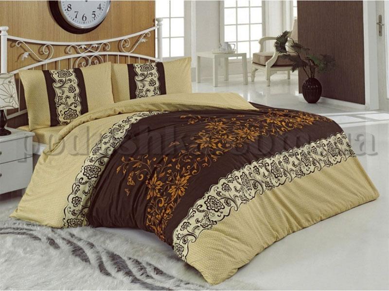 Постельное белье Hobby Smart Assos коричневый
