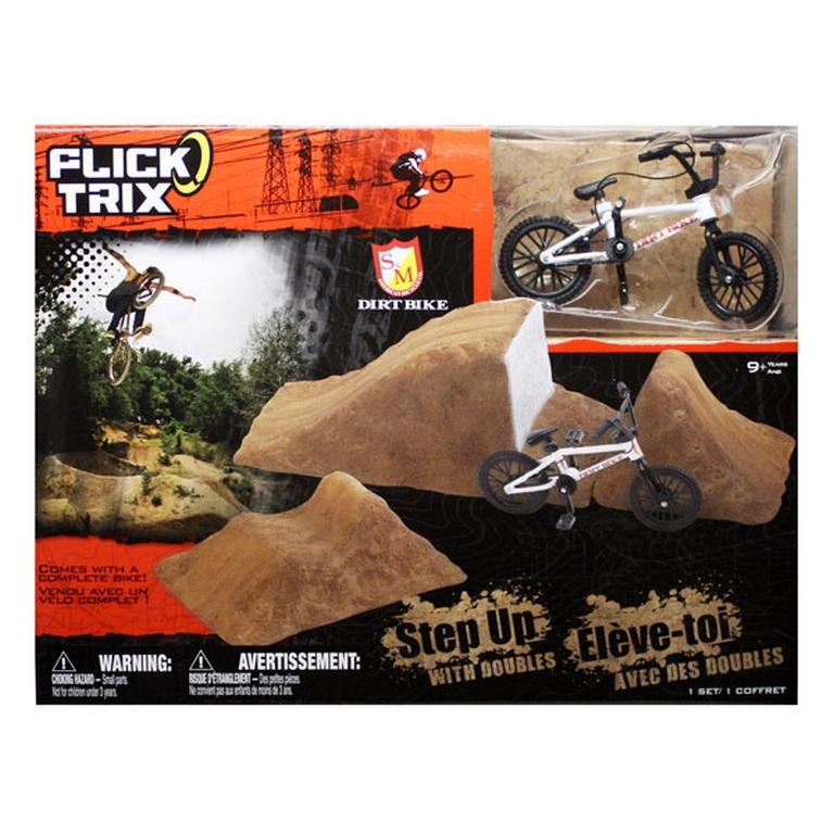 Передвижная рампа-трансформер Stunt Set и велосипед BMX Flick Trix 12012-6014027-FT