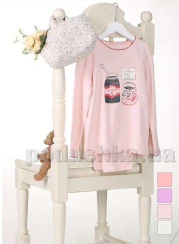 Пижама для девочек Robinzone ПЖ62Н с начёсом