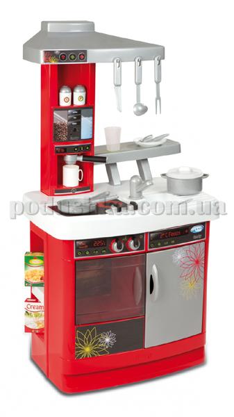 Кухня Bon Appetit с плитой, духовкой, холодильником, умывальником и аксессуарами