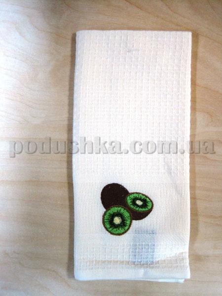 Набор вафельных кухонных полотенец Mariposa 012 Киви крем