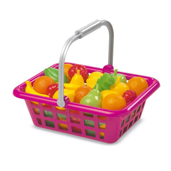 Игровой набор Корзинка с овощами и фруктами