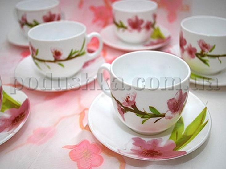 Чайный сервиз Luminarc WATER COLOR 12 предметов