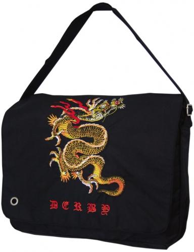 Сумка-почтальон Derby 0278025 с вышивкой Дракон