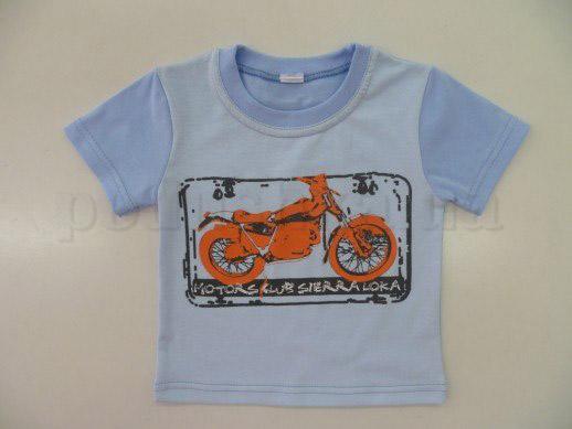Футболка детская с мотоциклом Кена 104101 кулир