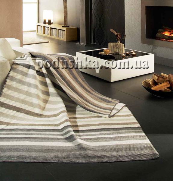 Плед Текстурные полоски (exquisite cotton trend), Bocasa
